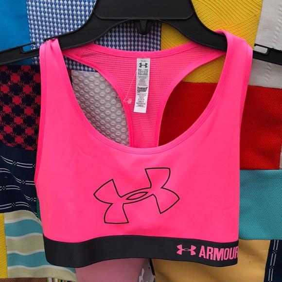 25648df464ef4 Nwt Girls Under Armour Sports Bra Xl 25 Pink